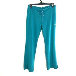 Greys Anatomy M Teal Medical Scrub Pants Nursing